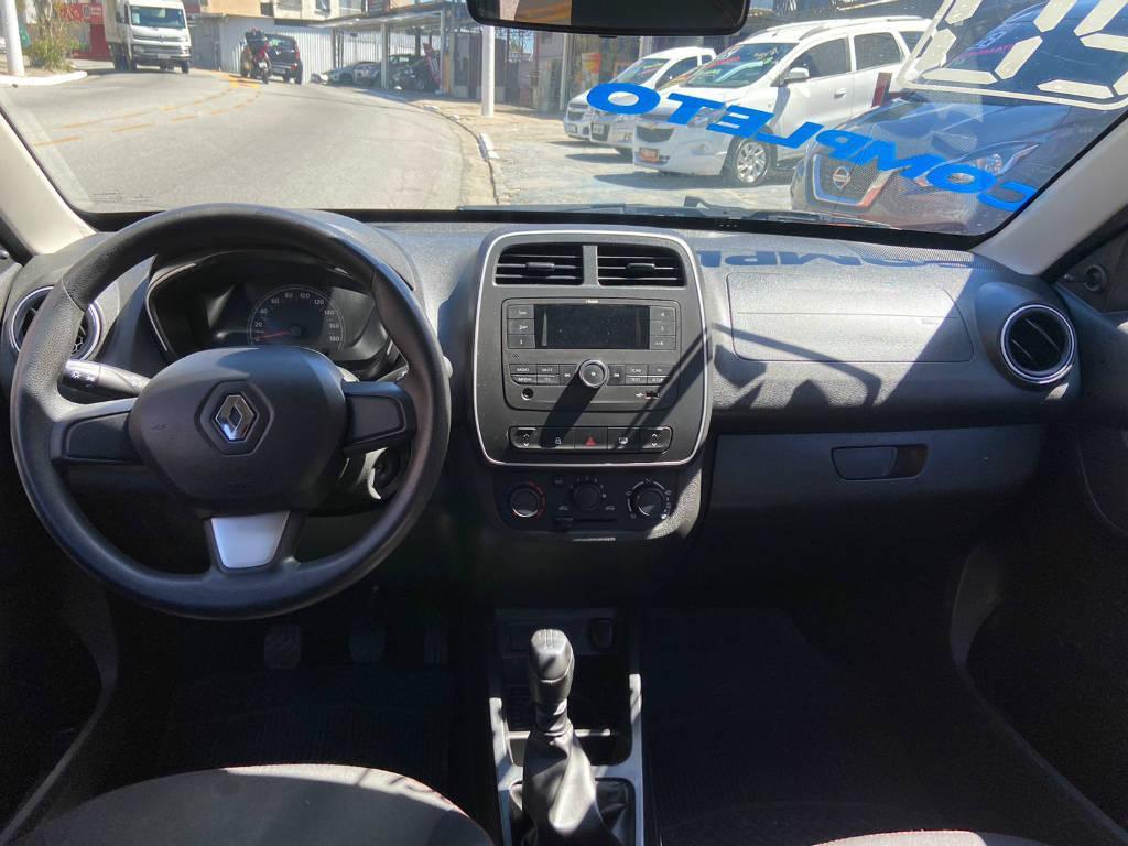 Foto numero 11 do veiculo Renault Kwid ZEN 1.0 MT - Branca - 2019/2020